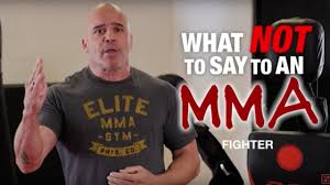 what not to say to an mma fighter w bas rutten youtube