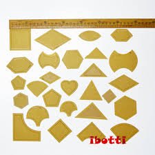 2018 mixed quilt templates acrylic diy tools for patchwork quilter
