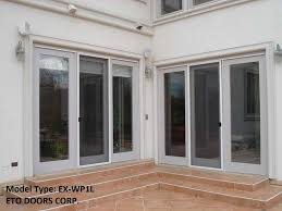 commercial exterior glass doors exwp1lclear exterior 1 lite white primed with dual clear