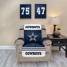 Quilted Recliner Covers Dallas Cowboys Quilted Recliner Chair Cover Multicolor