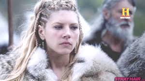 how to plait hair like lagertha lothbrok awesome new vikings hairstyles coming in season 4 strayhair