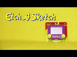 mini etch a sketch drawing toy youtube