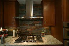 Slate Backsplash Kitchen Rust Slate Backsplashes Kitchen Design Kitchen And Bath Ideas