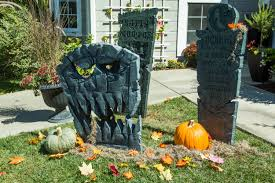 get your yard ready for halloween with these realistic and spooky