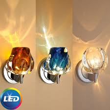 Led Wall Sconce Fixtures Bruck Aurora Modern Led Wall Sconce Bru Aurora Led Wall