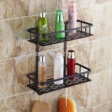 Bathroom Shower Organizers Luxury 2 Tier Bathroom Shower Hook Caddy Powder Coated Wire