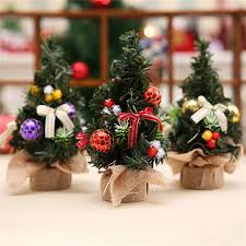 realistic mini tree plastic small pine trees