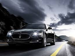 black maserati sedan maserati car wallpapers this wallpaper
