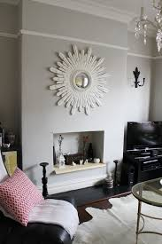 choosing the right shade of grey paint picture rail living