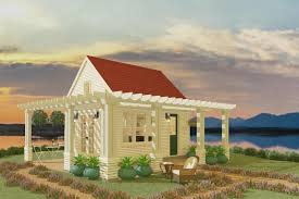 cottage style house plan 1 beds 1 00 baths 192 sq ft plan 917 11