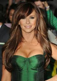 gorgeous hair i love the pretty brown color with jennifer love hewitt always has great hair love the dark brown with