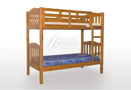 SCF Adelaide Timber King Single Bunk Bed Chestnut Sydney Central - Timber bunk bed