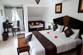 Bedroom Bed In Corner Hanneman Holiday Residence Is A Newly Built Apartment Hotel 4