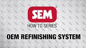 sem how to series oem refinishing system youtube