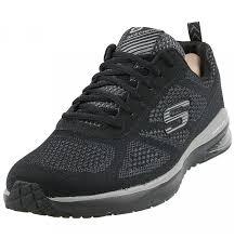 skechers men u0027s skech air infinity training shoes in black size