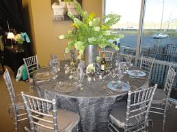 silver chiavari chairs silver linens and chiavari chairs by mahaffey tent event rentals