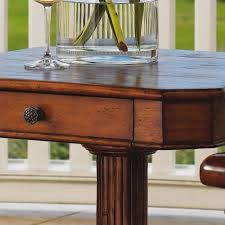 Plantation Desk Tommy Bahama Home Island Estate Cinnamon Cove Lamp End Table In