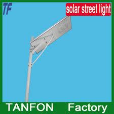 Solar Led Street Lighting by Solar Powered Led Street Lighting System All In One Design Price