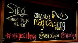 Siro Urban Italian Kitchen - visit orlando 2014 magical dining siro urban italian kitchen