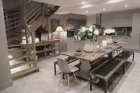 cuisine ouverte sur salle a manger deco cuisine ouverte sur sejour pour decoration cuisine moderne