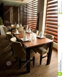 modern restaurant table setting stock photo image 62952445