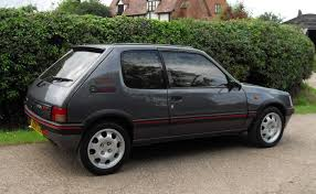 peugeot black car picker black peugeot 205