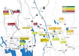 Map Sweden 2013 Fia Wrc Stage Map Rally Sweden Eurocar News