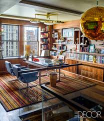 Elle Decor Home Office Andy Cohen New York City Home Tour