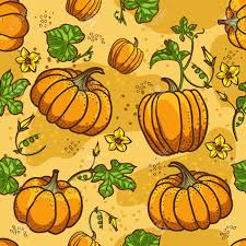 halloween seamless background pumpkin background seamless pattern royalty free cliparts vectors