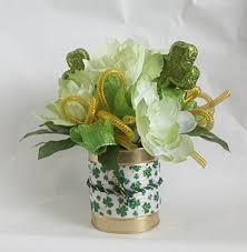 peony arrangement amazon com st patricks day peony arrangement floral arrangement
