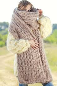 knitting pattern for angora scarf accessories home extra long hand knitted mohair scarf shawl in