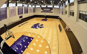 Kansas State University Interior Design Practice Court At The Basketball Training Facility K State