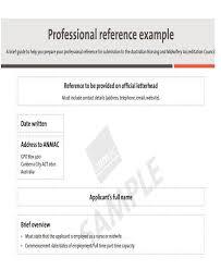 nurse reference letter nursing reference letter templates 8