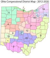 ohio on us map redistricting reform for ohio congressional maps proposed by house