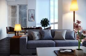canap gris fonc deco salon avec canape bleu idées décoration intérieure farik us