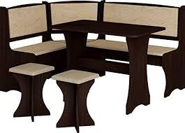 Kitchen Nook Furniture Set Breakfast Kitchen Nook Table Set L Shaped Storage Bench With 2