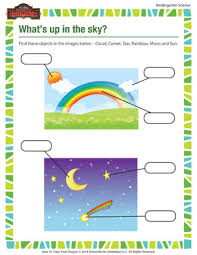 what u0027s up in the sky fun science worksheets for kids