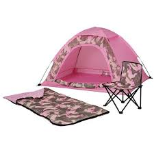 dome tent for sale dome camping pink camo tent girls 4pc set sleeping bag folding