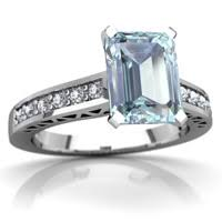 aquamarine art deco ring r26358em waqua