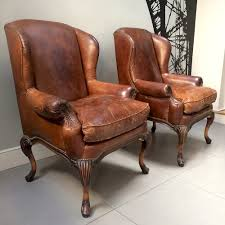 Leather Armchairs Vintage Napoleonrockefeller Com Collectables Vintage And Painted Furniture