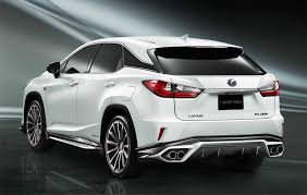 latest lexus suv 2015 lexus rx u0027f sport parts u0027 upgrades revealed overseas