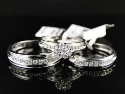 wedding ring trio sets wedding rings wedding ring white gold wedding rings sets