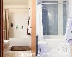 all tile bathroom marble and glass tile bathroom makeover all things g d