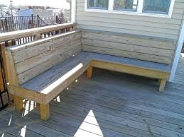 how to build deck bench seating deck with bench seating wordslikehoney me