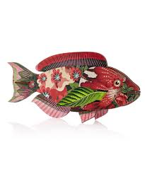 miho abracadabra fish ornament home décor by miho liberty co