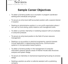 graduate career objective statement exles how to writesume objective and get ideas create your with the best