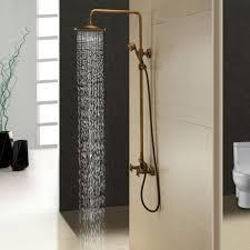 Antique Brass Shower Curtain Rod Best 25 Brass Shower Head Ideas On Pinterest Shower Fixtures