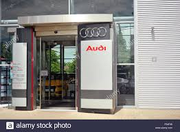 audi dealership audi dealership sign stock photos u0026 audi dealership sign stock