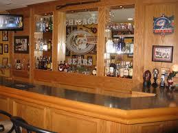 custom built bars and finished basements basement remodeling illinois