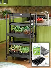 indoor herb garden kit with light pyihome com